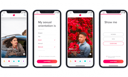 Tinder rolls out sexual orientation option, while continuing to ban trans people