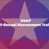 US Air Force anti-sexual harassment training