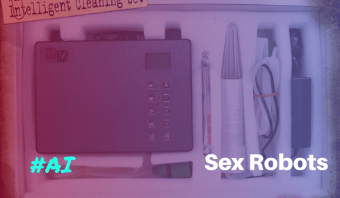 Automatic Sex Robot Cleaner