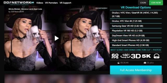DDFVR -VR porn Veronica Leal Screenshot