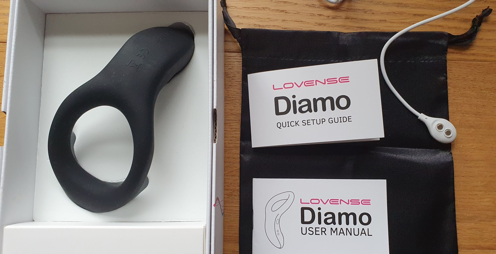 Lovense Diamo Box Contents