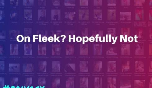 Fleek user images leaked