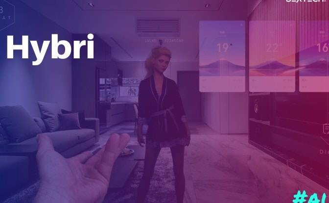 Hybri AI Companion Launch