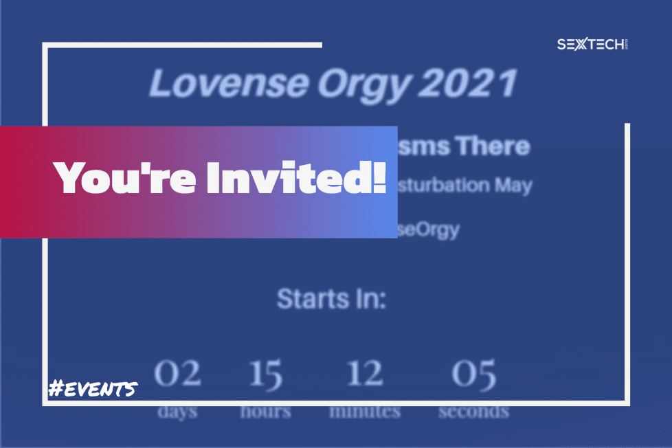 Lovense has organized a Twitter orgy for May 22