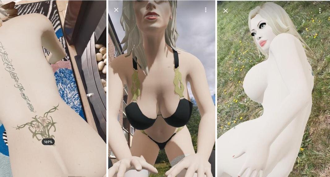 Naughty America AR models