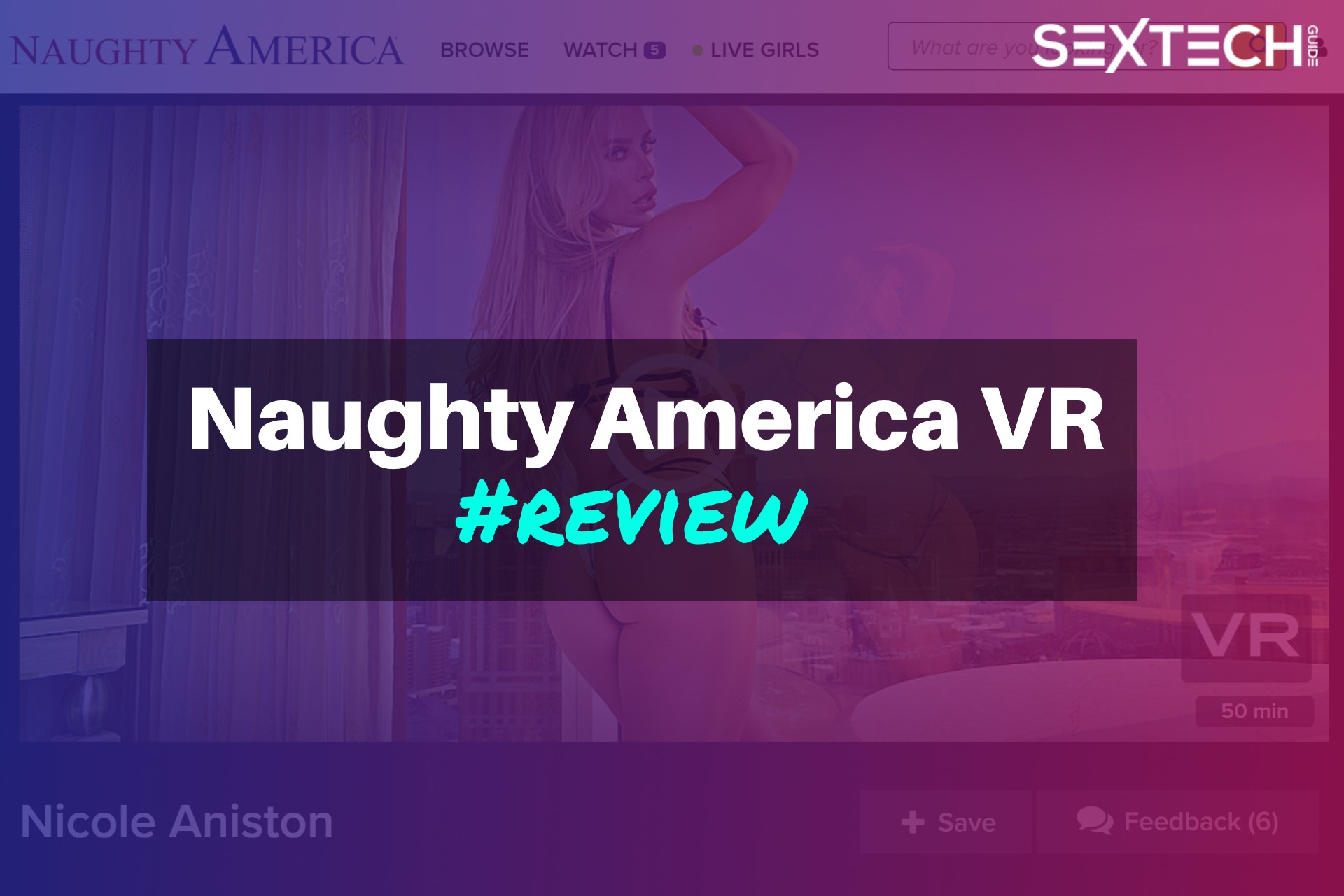 Naughty America VR review