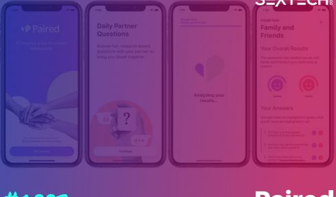 Paired relationship app for couples