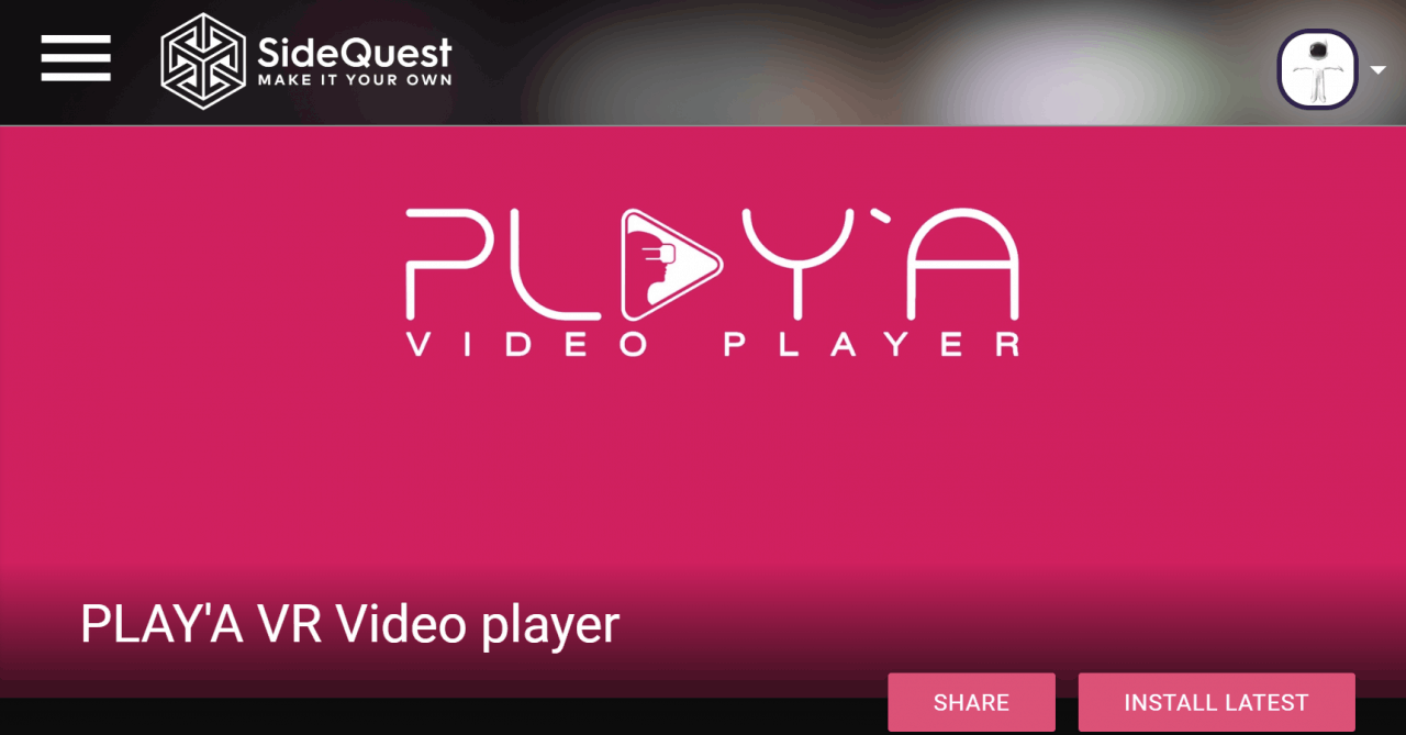 How to install Playa app on Oculus Quest