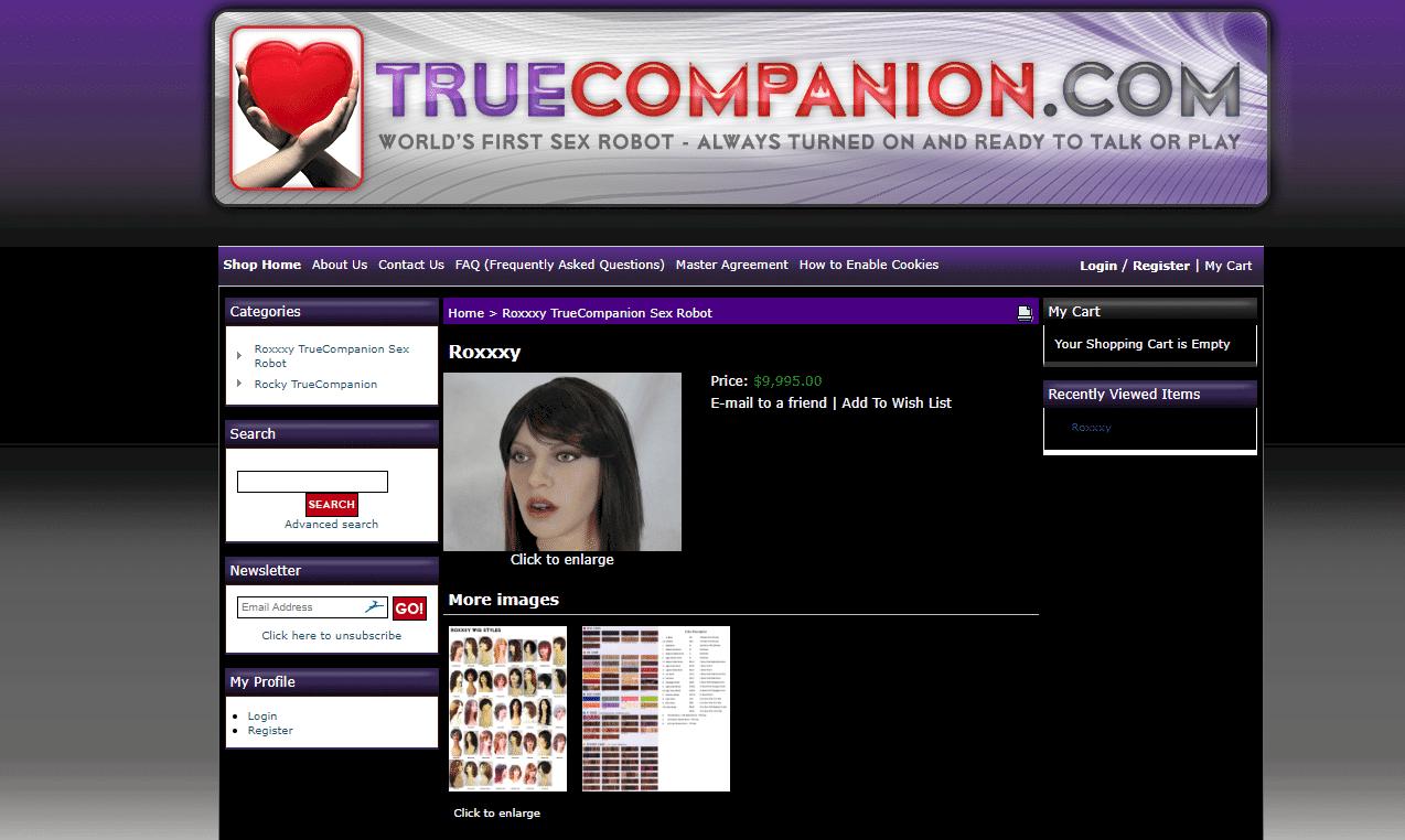 True Companion Roxxxy
