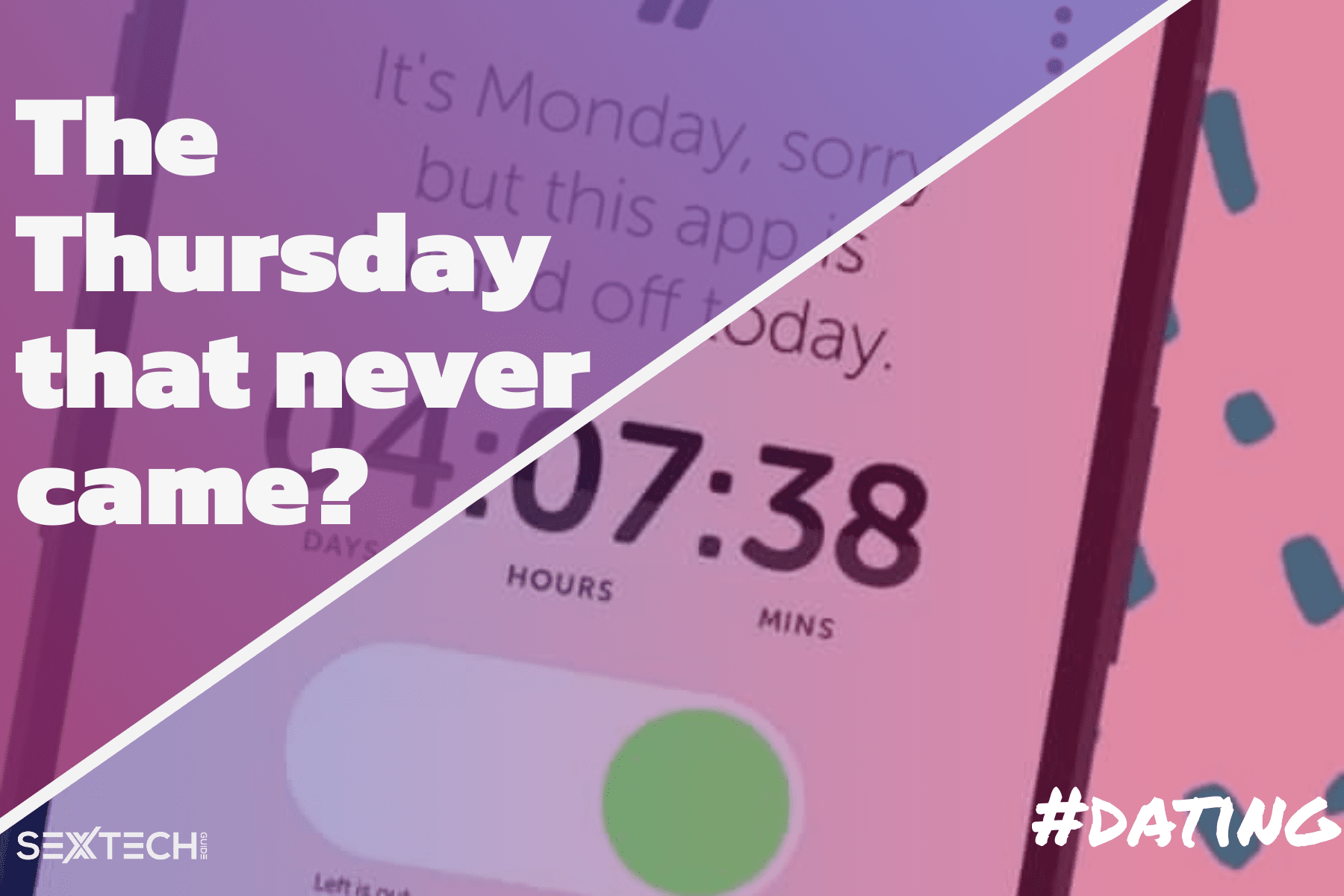 Thursday - One day a week dating