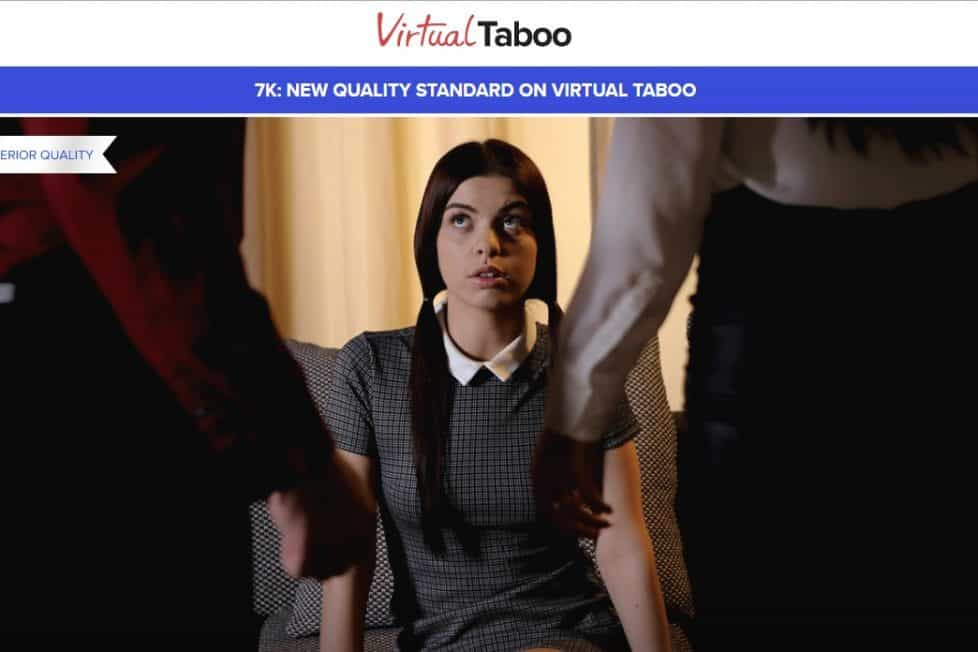 Virtual Taboo 7K VR porn scenes